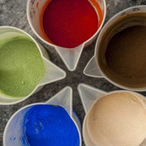 Spices, Clays and Mineral Pigments